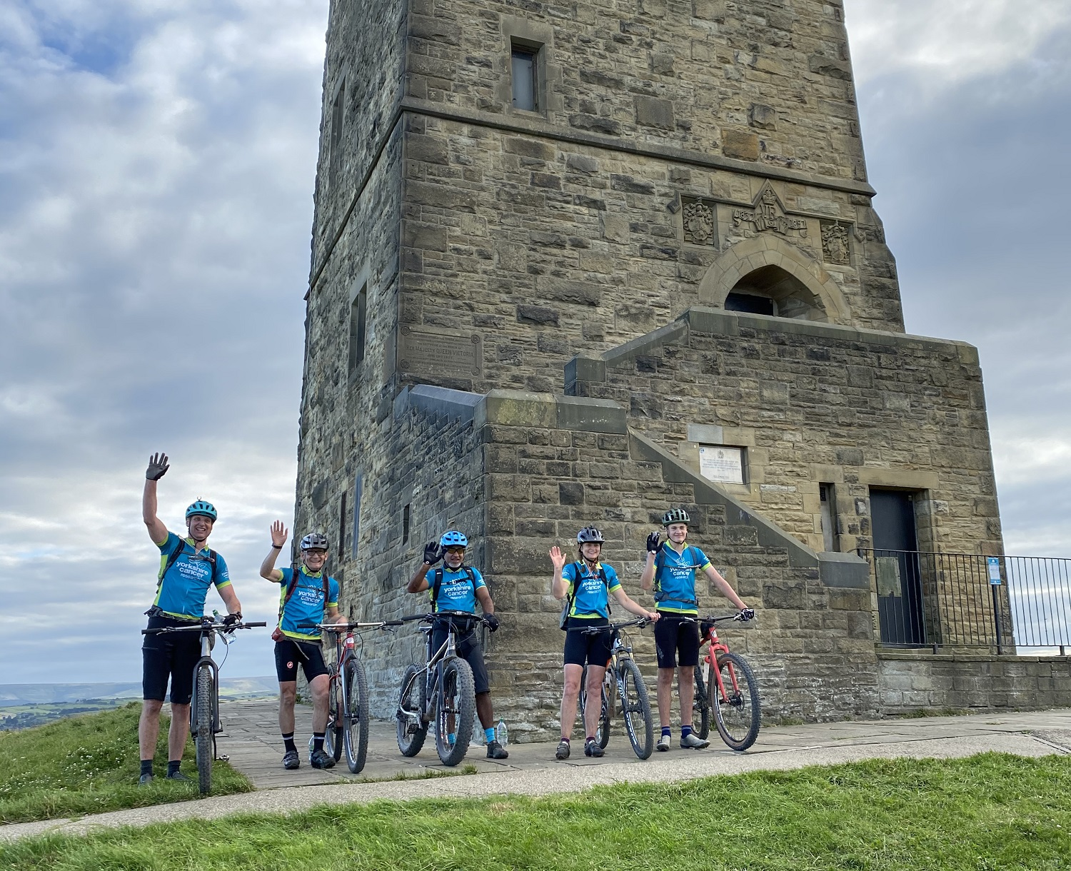 Stadium Riders complete 80-mile cycling challenge
