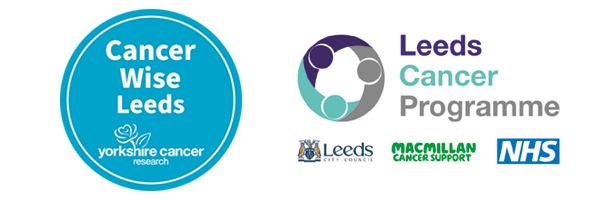 Cancer Wise Leeds and the Leeds Cancer Programme logos