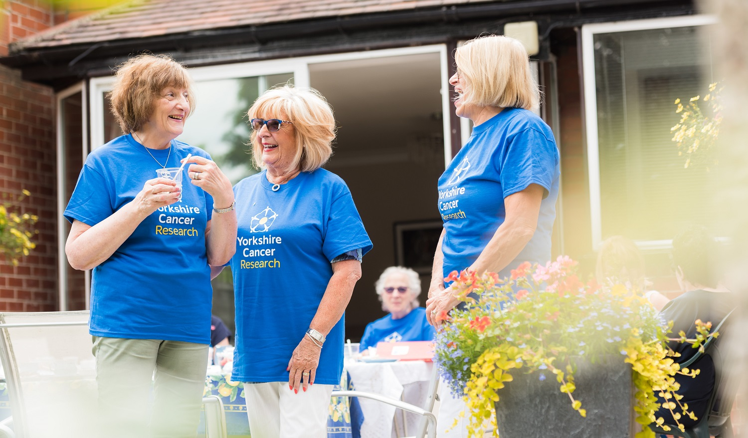 Yorkshire Cancer Research volunteer group in Leeds