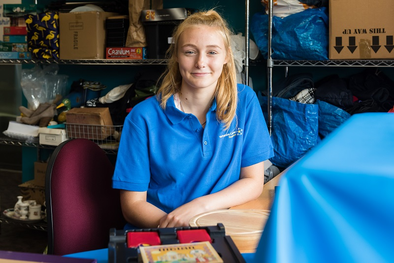 Jess, Yorkshire Cancer Research volunteer