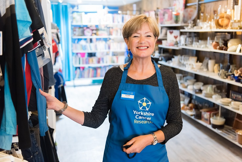 Annette, Yorkshire Cancer Research volunteer
