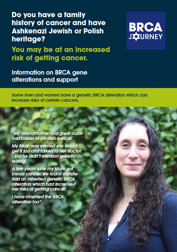 Ashkenazi Jews And The Brca Gene News Yorkshire Cancer Research