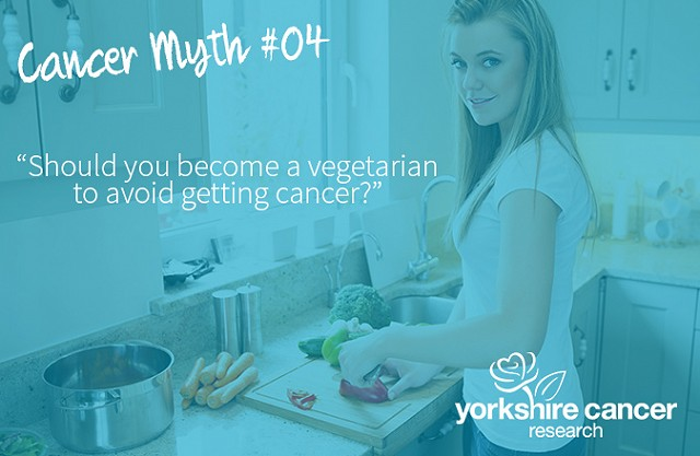 Should you become a vegetarian to avoid getting cancer?