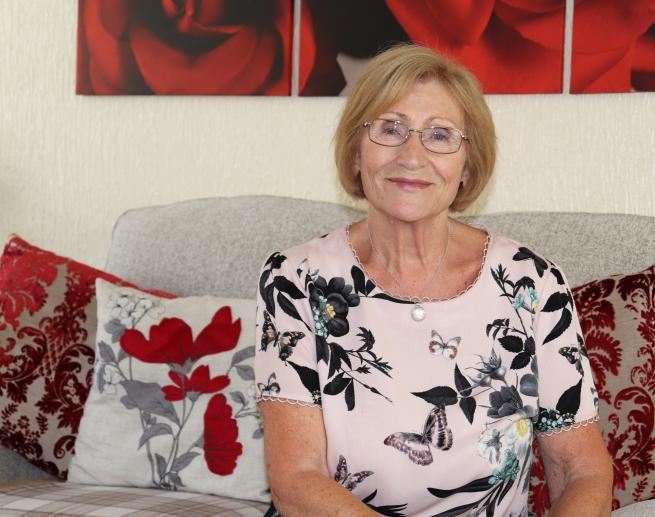 Dorothy, who attended Leeds Lung Health Check